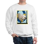 Bulldog Agility Design Sweatshirt