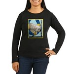 Bulldog Agility Design Women's Long Sleeve Dark T-
