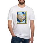 Bulldog Agility Design Fitted T-Shirt