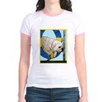 Bulldog Agility Design Jr. Ringer T-Shirt
