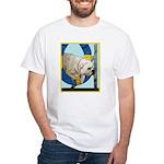 Bulldog Agility Design White T-Shirt