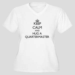 Keep Calm and Hug a Quartermaster Plus Size T-Shir
