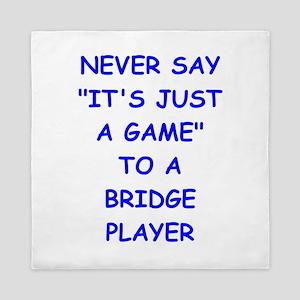 BRIDGE Queen Duvet