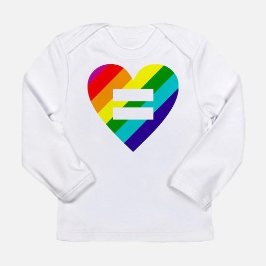 Rainbow love equals love Long Sleeve T-Shirt