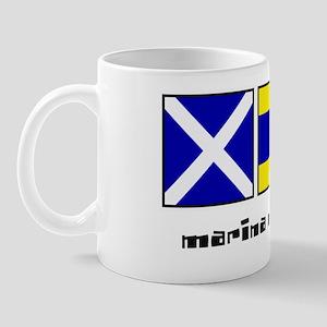 marina del rey ca nautical-page1 Mug