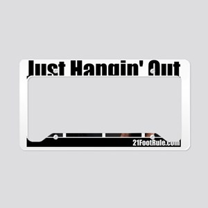 21 foot rule t-shirt-1 License Plate Holder
