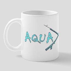 AQUA CULTURE SPEARGUNS aqua purple Mug