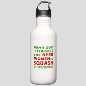 Beer Women and Squash Stainless Water Bottle 1.0L