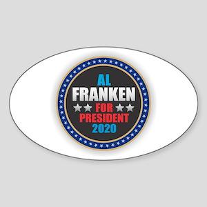 Al Franken for President Sticker