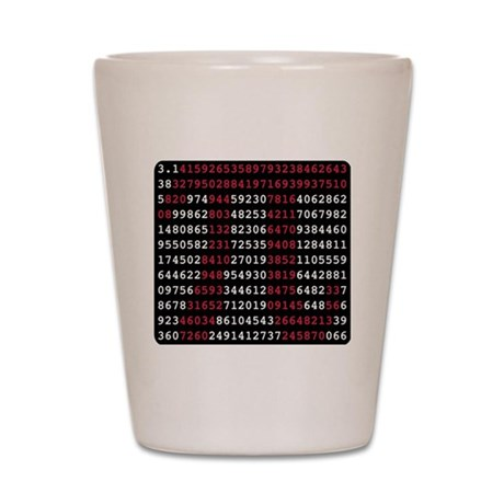 pi_numbers2 Shot Glass