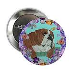 English Bulldog Button