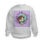 English Bulldog Kids Sweatshirt