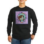English Bulldog Long Sleeve Dark T-Shirt