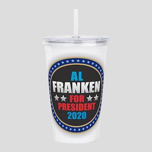 Al Franken for Preside Acrylic Double-wall Tumbler