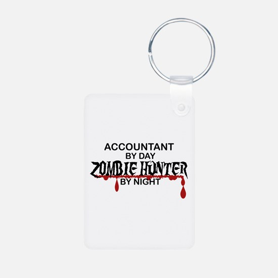 Zombie Hunter - Accountant Keychains