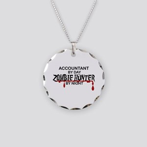 Zombie Hunter - Accountant Necklace Circle Charm