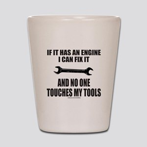 IF IT HAS AN ENGINE Shot Glass