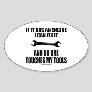 IF IT HAS AN ENGINE Sticker (Oval)