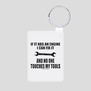 IF IT HAS AN ENGINE Aluminum Photo Keychain