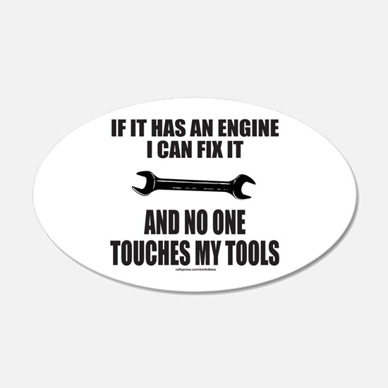IF IT HAS AN ENGINE Wall Decal