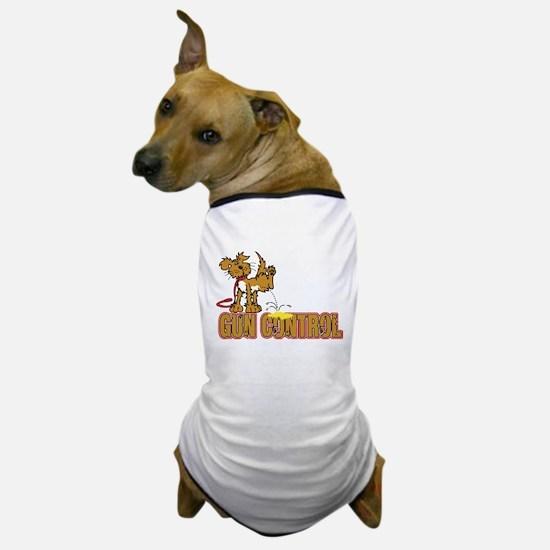 Piss on Gun Control Dog T-Shirt