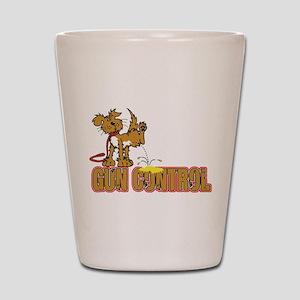Piss on Gun Control Shot Glass