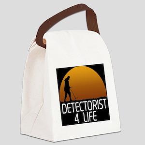 Detectorist 4 Life Canvas Lunch Bag