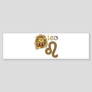 Leo Bumper Sticker