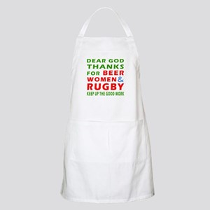Beer Women and Rugby Apron