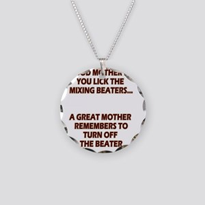 2-GREATMOMBEATERS.LIGHT Necklace Circle Charm
