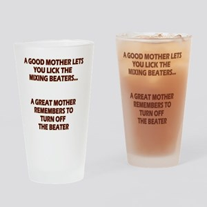 2-GREATMOMBEATERS.LIGHT Drinking Glass