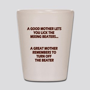 2-GREATMOMBEATERS.LIGHT Shot Glass