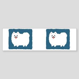 whtpommug Sticker (Bumper)
