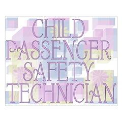Child Passenger Safety Techni Posters