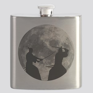 Samurai Moon Flask