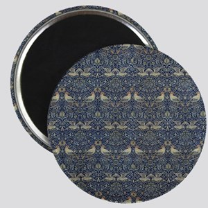 Morris Blue Pattern with Birds Magnet