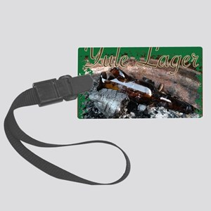 Yule Lager Large Luggage Tag