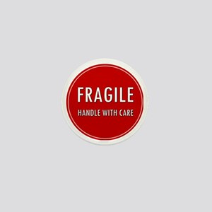 Fragile, Handle with care Mini Button