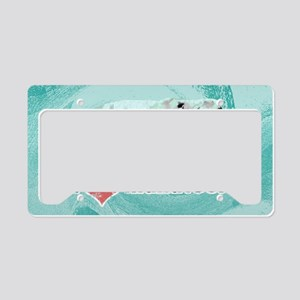 shoulderManatees License Plate Holder