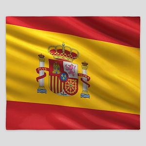 Flag of Spain King Duvet