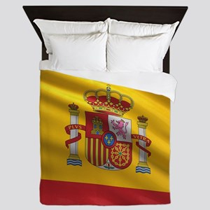 Flag of Spain Queen Duvet