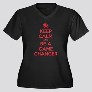 K C Be a Game Changer Plus Size T-Shirt