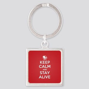 Keep Calm Stay Alive Keychains