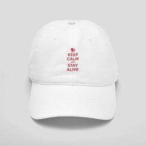 Keep Calm Stay Alive Baseball Cap