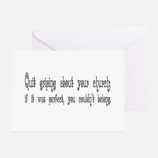 Perfect Church Greeting Cards (Pk of 10)