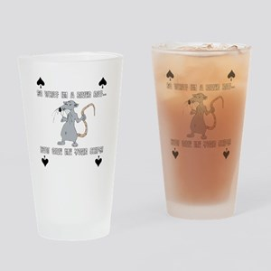 river rat Drinking Glass