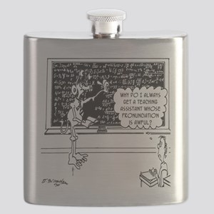 Space Alien Teacher Flask