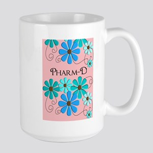 PharmD retro Flowers 2 Mugs
