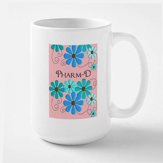 PharmD retro Flowers 2 Mugs