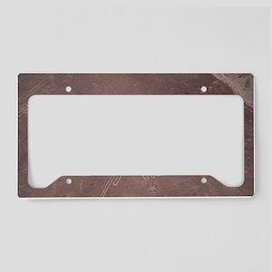 Nazca lines License Plate Holder